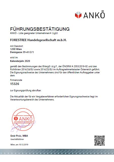 ANKÖ_Zertifikat